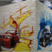 StoneslikeStones_Steinpaneel_Ladenbau_07140_–_Ladrillo_Loft_228_Graffiti_–_Messestand